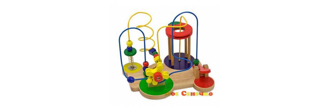 Игрушка деревянная - лабиринт